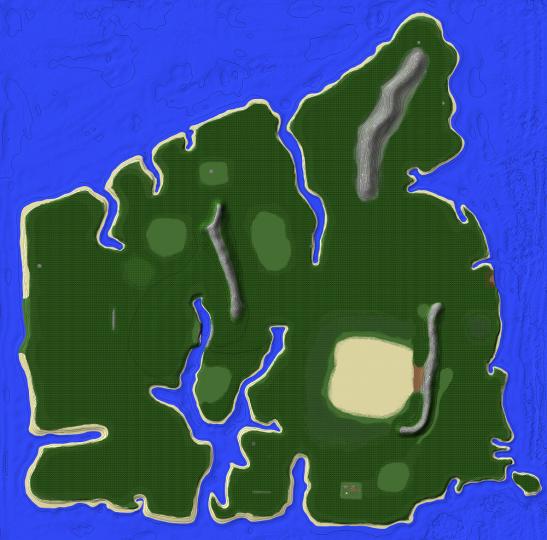 Isla Sorna Map