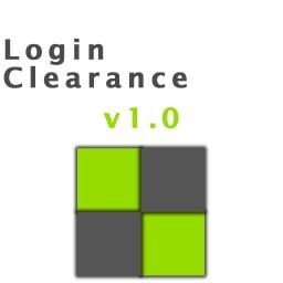 Login Clearance V1.0 Minecraft Mod