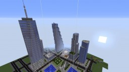 New N.Y.C. World Trade Center Replica Minecraft Map & Project