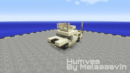 HMMWV / Humvee: Military Jeep Minecraft Map & Project