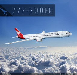 Boeing 777-300ER | Qantas Minecraft Project