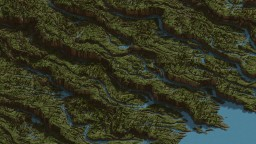Cultivated Waters, a 2k by 2k test Minecraft Map & Project