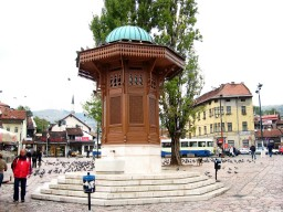 Sebilj | Old Ottoman drinking fountain - Sarajevo Minecraft Project