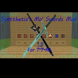 Syntthetix's More Swords Mod [Forge] [1.8.1] Minecraft Mod