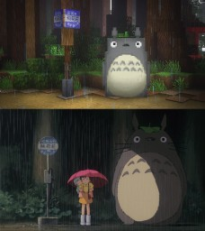 My Neighbor Totoro Minecraft Project