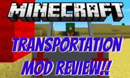 Transportation Mod Review! Minecraft Blog Post