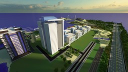 Office Buildings Complex Minecraft Map & Project