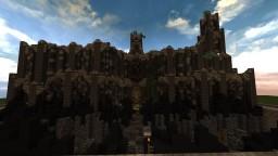 Dark Medieval Village Minecraft Map & Project