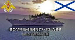 Sovremennyy-class destroyer Minecraft Project