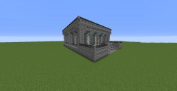 Small Bank Building Minecraft Map & Project