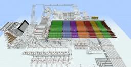 Platinum Red 8 Bit 1 Byte Redstone Computer (Demo Version) Minecraft Map & Project