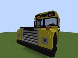 Huge School Bus Minecraft Map & Project