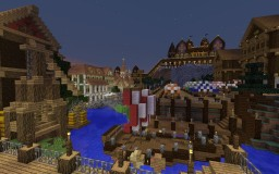 Medieval European City Minecraft Map & Project