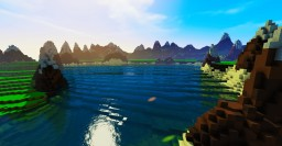 ➤ Custom Terrain for Server Hub | Download ! Minecraft