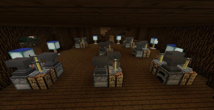 First Floor Work Room