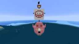 One Piece Doflamingo's Ship Minecraft Map & Project