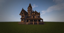 Carson Mansion Reforged #WeAreConquest Minecraft Project