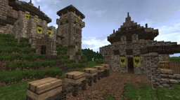 Medieval Barracks - Hegemony Minecraft