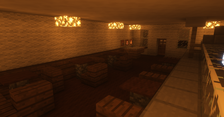 Bar and smoke room