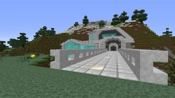Modded Build House - Server Build - Marble Mansion Minecraft Map & Project