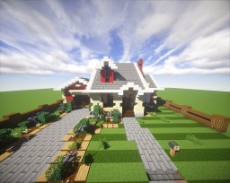 Suburban House #9 Minecraft Project