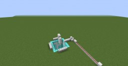 Rocket Ship in Vanilla Minecraft Minecraft Map & Project