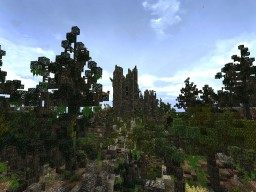 fogwood | fantasy forest Minecraft Map & Project