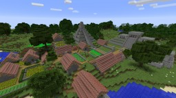 Mayan Inspired VIllage Minecraft Map & Project