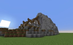 Moutain and House of Whelcroft Minecraft Map & Project