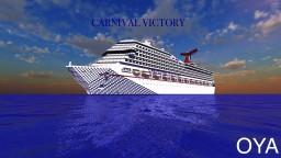 Cruise Ship - Carnival Victory [1:1 REPLICA, DOWNLOAD] Minecraft