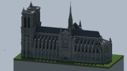 Notre Dame De Paris Minecraft Project