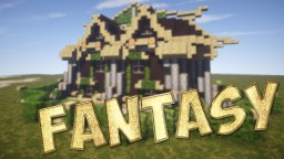Fantasy House. Minecraft Map & Project