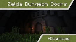 Zelda Dungeon Doors in vanilla Minecraft | v.2 [1.9/1.10] Minecraft Project
