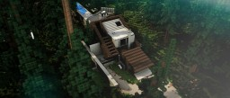 Hillside Residence - Modern Hillside Concept - BCS - Season 2 Minecraft Map & Project