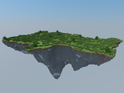 Blank Floating Island - Made with WorldPainter/MCEdit - 1.8.x to 1.13.x Minecraft
