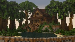Jungle Cabin by: AZ60 + DOWNLOAD! Minecraft