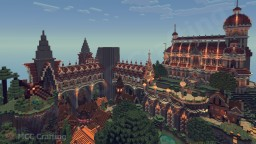 Medieval District At LBS City Minecraft Project