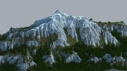 The Whispering Mountain Minecraft Map & Project