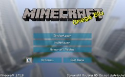 Omega Blu - A Simple, Clean UI Minecraft Texture Pack
