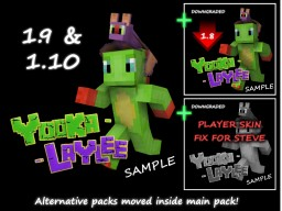 Yooka Laylee Sample Pack Minecraft Texture Pack
