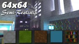 Semi Realistic [64x64][1.6.2] Minecraft Texture Pack