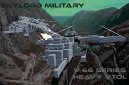 SV-66 Series Heavy Space VTOL Minecraft Project