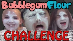 Bubble Gum and Flour Challenge! Minecraft Blog Post