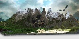 Skyrim: Markarth - City of Stone Minecraft Project