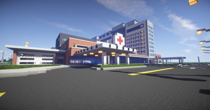 Mine County Central Hospital, one of my other projects