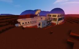 Minecraft Mars Base School Project Minecraft Map & Project