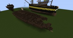Wreck of HMS Erebus Minecraft Map & Project
