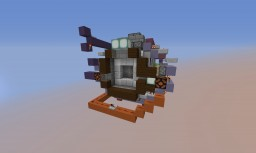 4x4 Redstone Airlock Door Minecraft