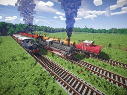 [1.7.10][Forge]Rails of War — Siemens-Schuckertwerke Akkulok update Minecraft