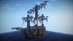Pirate ship Minecraft Project